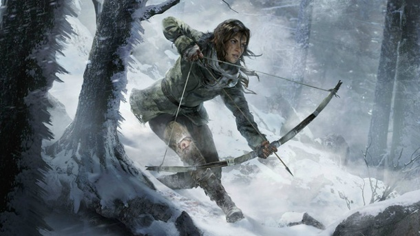 "Gamescom 2014: ""Rise of the Tomb Raider"" ziert exklusiv die Xbox One. Artwork zu Rise of the Tomb Raider (Quelle: Square Enix)"