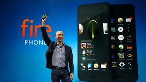 Amazon-Chef Jeff Bezos präsentiert das Fire Phone.