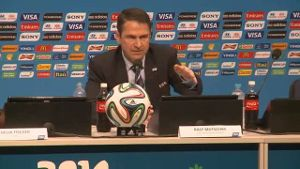 Ralf Mutschke, FIFA Head of Security (Screenshot: omnisport)
