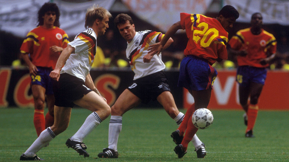 WM 1990: Deutschland - Kolumbien 1:1 (0:0) (Quelle: imago images/Sven Simon)