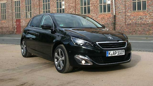 peugeot 308 allure thp 155 im test die neue leichtigkeit. Black Bedroom Furniture Sets. Home Design Ideas