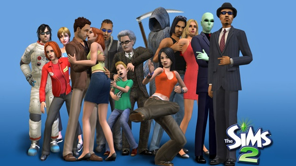 "Electronic Arts schickt ""Die Sims 2"" in Rente. Die Sims 2 Lebenssimulation von EA (Quelle: Electronic Arts)"