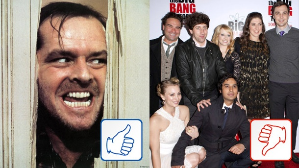 """The Shining"" und die ""Big Bang Theory""-Stars: Top und Flop des Tages. ""The Shining"" erhält eine Vorgeschichte, ""The Big Bang Theory""-Stars gefährden achte Staffel. (Quelle: imago/entertainment pictures/bigbang/APress/imago)"