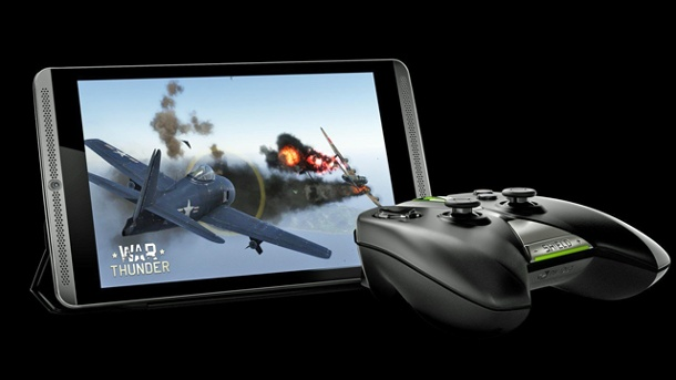 Tablet-Konsole und Krummdisplay: Die Hardwaretrends der Spiele-Messe. Nvidia Shield Tablet (Quelle: Nvidia)