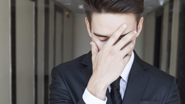 Disstress: Der klassische, negativ erlebte Stress. Die negative Form vom Stress nach Hans Selye ist Disstress. (Quelle: Thinkstock by Getty-Images)