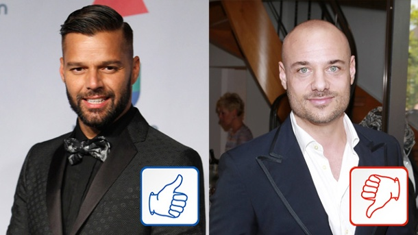 """Ricky Martin und """"Bachelor"""" Christian Tews: Top & Flop des Tages. Ricky Martin, """"Bachelor"""" Christian Tews (Quelle: Reuters/imago, Future Image)"""