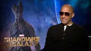Interview mit Vin Diesel zu 'Guardians of the Galaxy' (Screenshot: t-online.de)