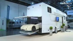 Caravan-Salon: Luxusmobile zum Staunen (Screenshot: Zoomin.tv)