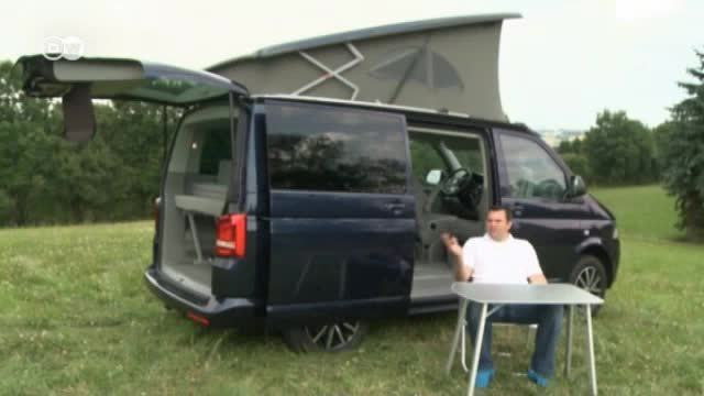 camping mobil das taugt der vw bus california video. Black Bedroom Furniture Sets. Home Design Ideas