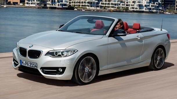 bmw 2er cabrio mit stoffdach durch den sommer. Black Bedroom Furniture Sets. Home Design Ideas
