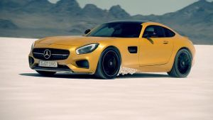 Weltpremiere des Mercedes AMG GT (Screenshot: News2do)