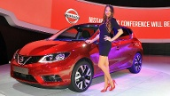 Messegirls Autosalon Paris (Quelle: Press-Inform)