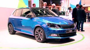 Premiere des Skoda Fabia in dritter Generation auf dem Pariser Autosalon (Screenshot: news2do)