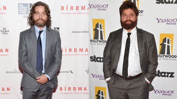 zach galifianakis hangover hat extrem abgenommen. Black Bedroom Furniture Sets. Home Design Ideas
