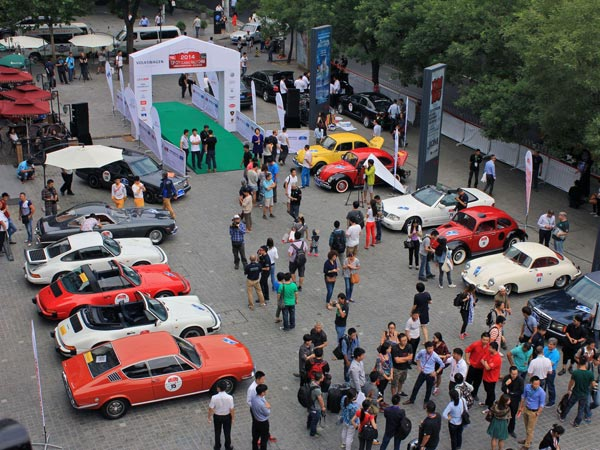 Die Top City Classic Rally China feierte ihre Premiere. (Quelle: press-inform)
