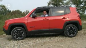 Jeep Renegade von Fiat im Test (Screenshot: Deutsche Welle)