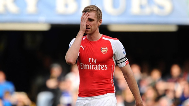 Premier League: Mertesacker räumt Motivationsprobleme ein. Per Mertesacker. (Quelle: imago/BPI)