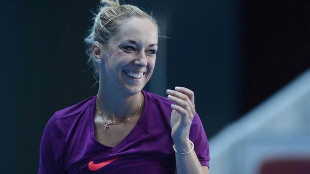 Sabine Lisicki kehrt im Finale ins Fed-Cup-Team zurück. Steht im DTB-Kader für den Tennis-Nationenpokal gegen Tschechien: Sabine Lisicki. (Quelle: imago/China Foto Press)