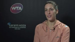 Andrea Petkovic im Interview.