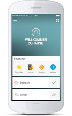 Die Smart Home-App (Quelle: Telekom Deutschland)