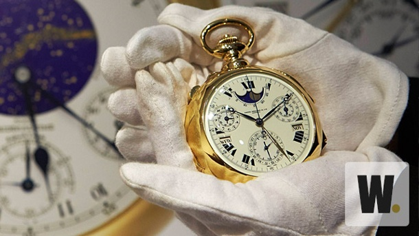 "Luxusuhr für Rekordpreis versteigert. ""Henry Graves Supercomplication"" von Patek Philippe (Quelle: Reuters)"