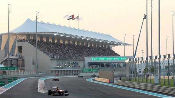 Formel 1 in Abu Dhabi: Amnesty International äußert scharfe Kritik. Grand Prix in Abu Dhabi (Quelle: xpb)