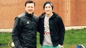 Lewis Holtby (re.) und Christian Titz