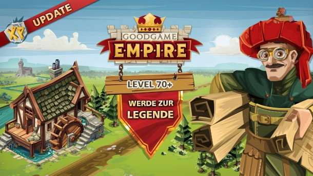 Goodgame Empire: Neues Update bringt Legendenlevel. Update für das Browsergame Goodgame Empire (Quelle: Goodgame)