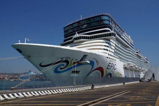 "Die ""Norwegian Epic"". (Quelle: Holidaycheck)"