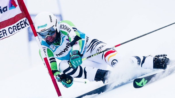 Ski alpin: Felix Neureuther Achter beim Sieg von Ted Ligety. Felix Neureuther im Riesenslalom (Quelle: imago/GEPA pictures)