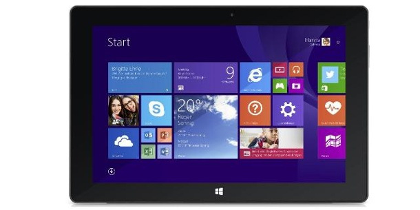 Windows-Tablet: Trekstor Surftab Wintron 10.1 im Test. Trekstor Surftab Wintron 10.1 im Test (c) Trekstor