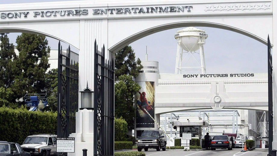 Die Sony Pictures Studios in Culver City, Kalifornien. (Quelle: dpa/Archivbild)