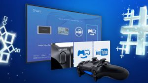 Sony PlayStation 4 Share-Funktion