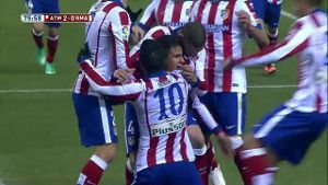 Copa del Rey: Atletico Madrid siegt gegen Real (Screenshot: Laola1.tv)