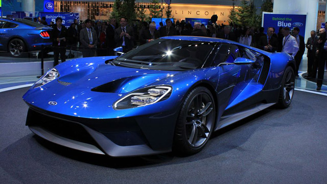 Ford GT - der Star of Show