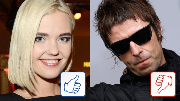 Bonnie Strange und Liam Gallagher: Top & Flop des Tages. Bonnie Strange und Liam Gallagher (Quelle: dpa/Reuters)