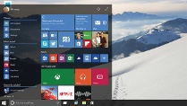 Startmenü von Windows 10 (Quelle: Microsoft)