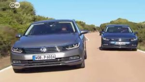 Die achte Generation des VW Passat (Screenshot: Deutsche Welle)