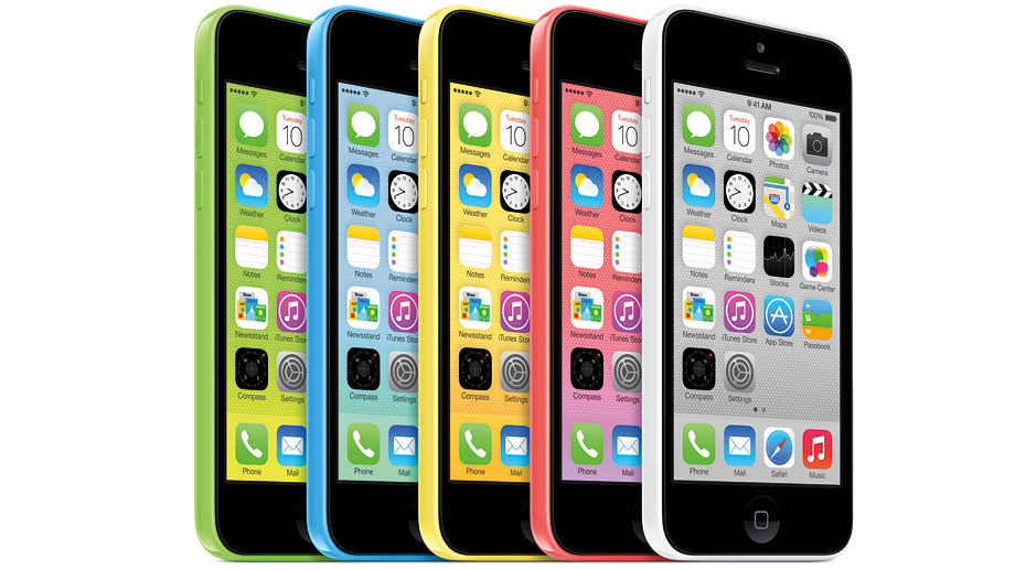 Apple iPhone 5c (Quelle: Hersteller)