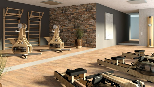 Gut So Schick Sehen Private Fitness Studios Aus. (Quelle: Waterrower.de)