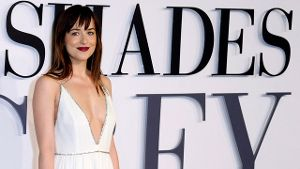 Langfinger am Filmset: Dakota Johnson