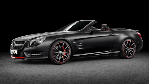 "Mercedes-Triumph: Sonderedition ""Mille Miglia 417"". Die Sonderedition SL Mille Miglia 417 (Quelle: Hersteller / ampnet)"