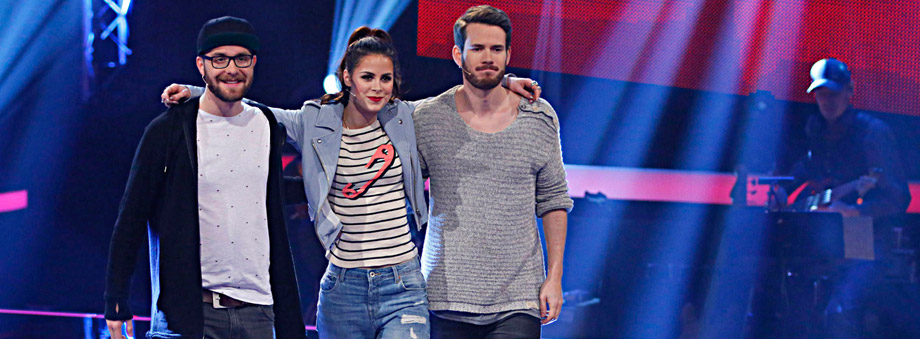 Die Coaches von 'The Voice Kids' (Quelle: Sat.1)