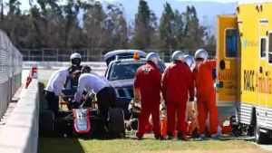 Alonso-Manager: 'Crash war sehr hart'. (Bildquelle: omnisport)