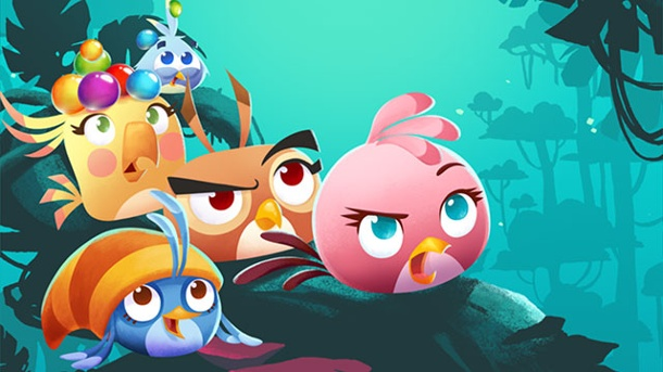 Angry Birds: Stella POP! - Test des Bubble-Shooters für iOS. Angry Birds: Stella POP! von Rovio Entertainment  (Quelle: Rovio Entertainment )