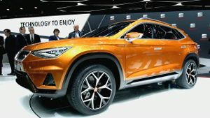 Seat präsentiert SUV-Konzept 'Vision 2020'. (Screenshot: News2Do)