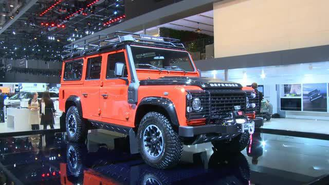 Land Rover Defender - Ende einer Legende. (Screenshot: news2use)