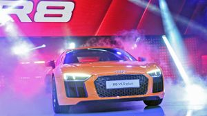 Audi feiert Weltpremiere in Genf. (Screenshot: United Pictures TV)