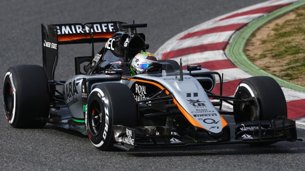 Sahara Force India F1 Team im Porträt. Force India wurde mit dem VJM08 erst sehr spät fertig. (Quelle: imago/Crash Media Group)