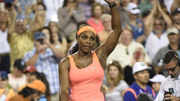 Tennis: Serena Williams siegt bei Comeback in Indian Wells. Serena Williams gewann ihr Auftaktmatch in India Wells.